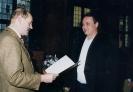 Verleihung des Ehrenblatts 2001